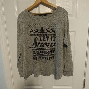 One clothing Xmas top Sz large